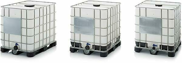 classic ibc containers group of 3