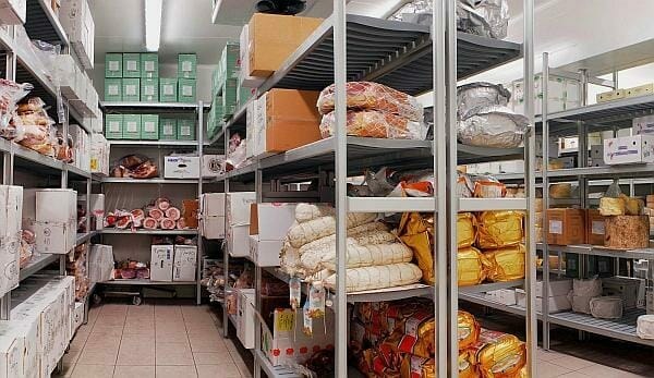 antibacterial shelving for the food and health industry